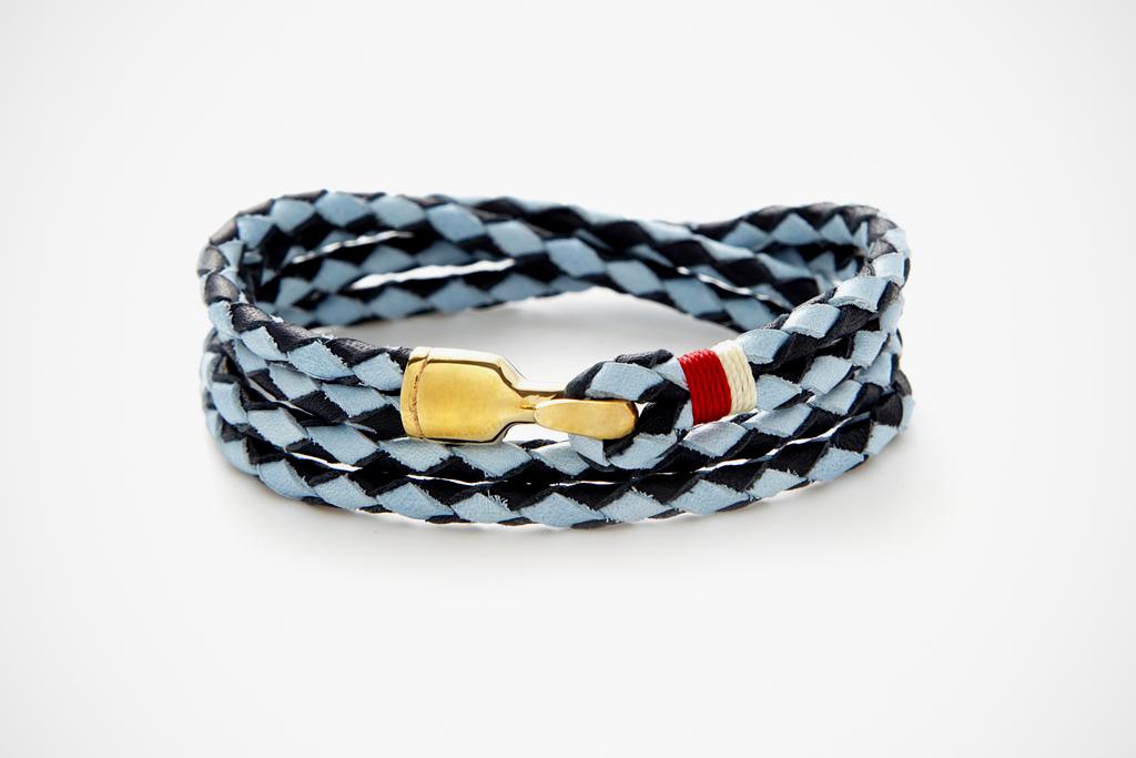 miansai trice bracelet sky blue