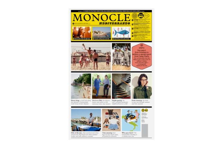 Monocle Mediterraneo 2012 Summer Issue 3