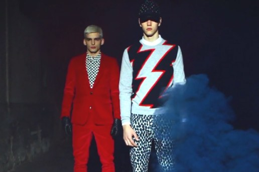 MSGM 2012 Fall/Winter Lookbook Video
