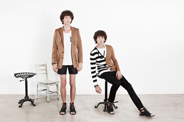 Munsoo Kwon 2013 Spring/Summer Lookbook