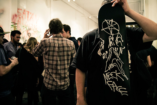"Neck Face ""Simply the Worst, Nasty Neck Face"" Exhibition @ New Image Art Gallery Recap"