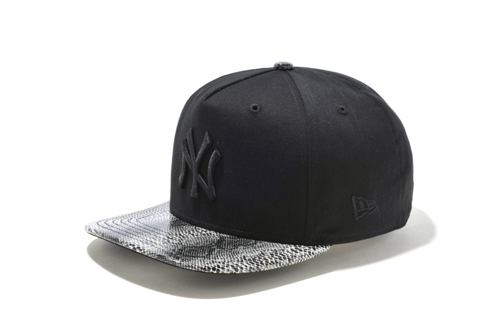 new era new york yankees snake visor caps