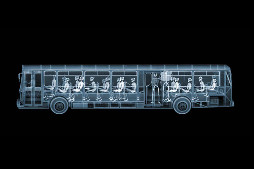 """Nick Veasey """"It's What's on the Inside That Counts"""" Exhibition @ Richard Goodall Gallery"""