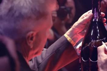 NOWNESS: The LA Launch of David Lynch's Dom Perignon Bottle