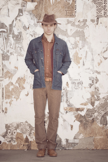 OBEY 2012 Fall Lookbook