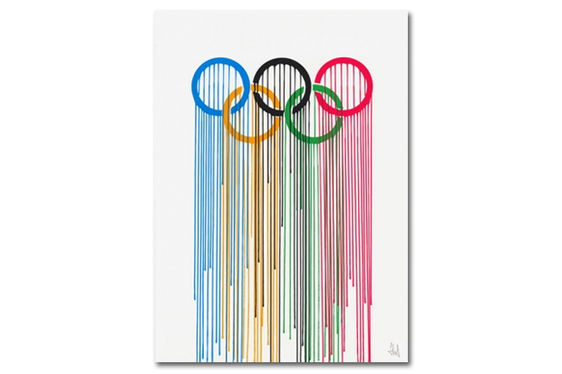 Olympic Rings Print by ZEVS