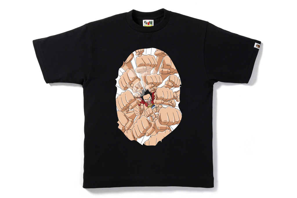one piece x bathing ape 2012 collection 2nd release