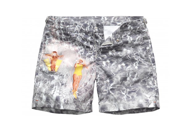 "Orlebar Brown 5th Anniversary ""Splash"" Swim Shorts"