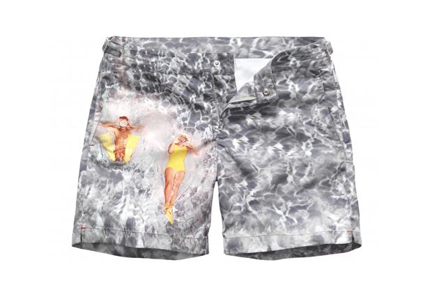 "Orlebar Brown 5th Anniversary ""Splash"" Swim Shorts"