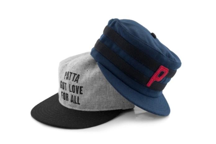 Patta x Ebbets Field Flannels Wool Caps