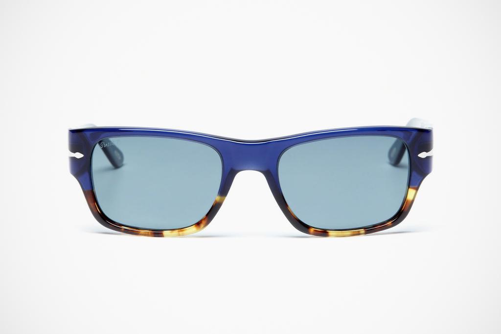Persol Rectangular Acetate Sunglasses