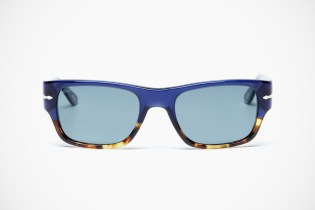 Persol Rectangular Acetate Sunglasses
