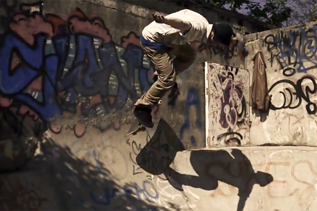 "Philip Evans ""Bowl Jazz"" Captures Skateboarding & Music on an Abandoned Rooftop"
