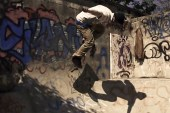 """Philip Evans """"Bowl Jazz"""" Captures Skateboarding & Music on an Abandoned Rooftop"""