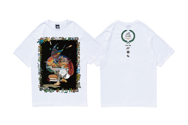 poppy oil sampler of garapagos exhibition stussy fukuoka