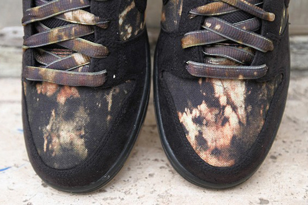 pushead x nike sb dunk low premium 2012