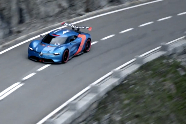 Renault's Alpine A110 Celebrates 50 Years with a Game of Cat and Mouse