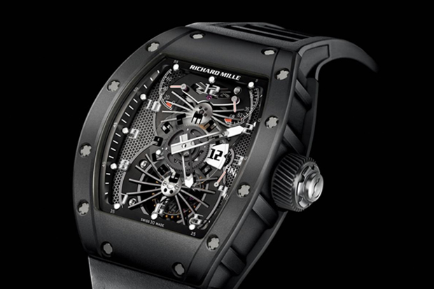 Richard Mille RM 022 Carbon Tourbillon Aerodyne Dual Time