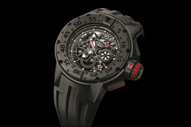 richard mille rm 032 dark diver watch