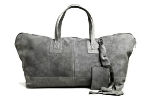 Rick Owens Leather Traveller Bag