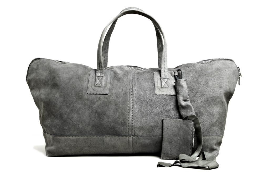 Rick Owens Leather Traveller Bag