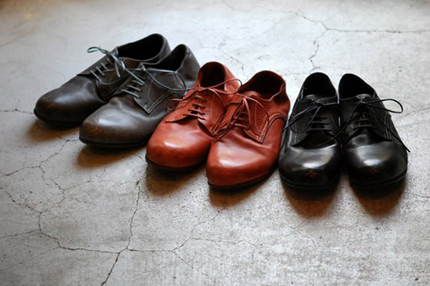 Roberu 2012 Fall/Winter Piece-Dyed Shoes