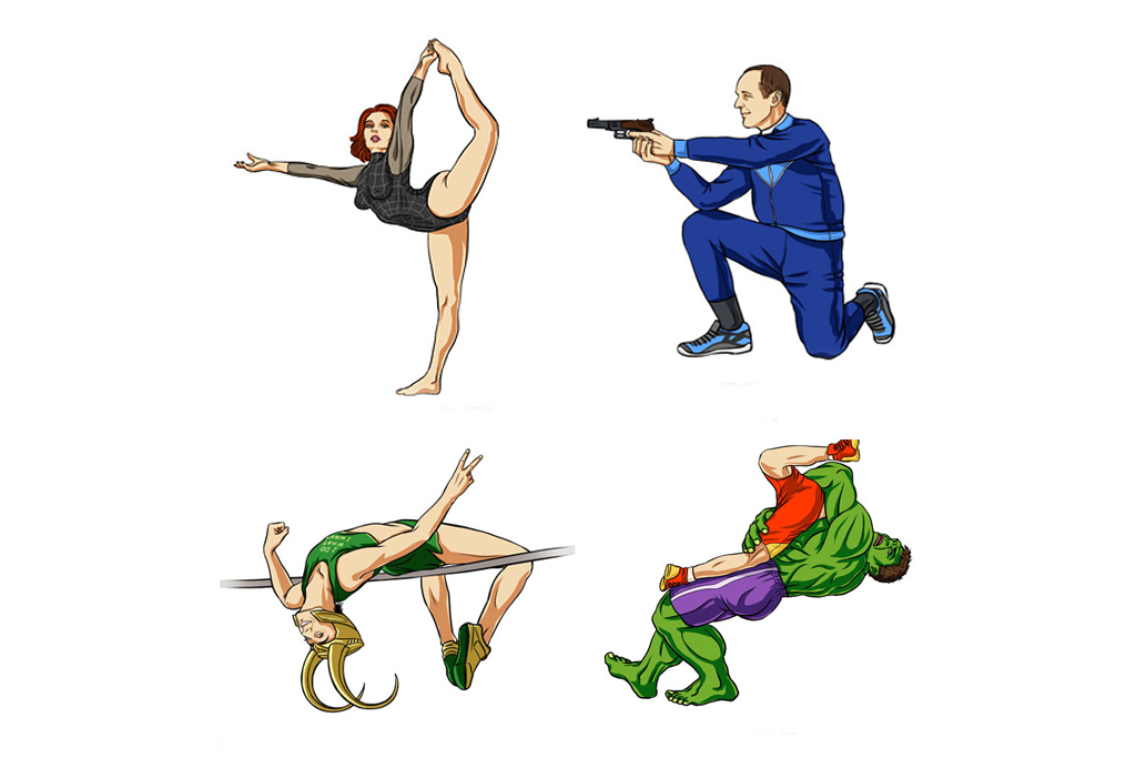 scargeear Envisions The Avengers at the Olympics
