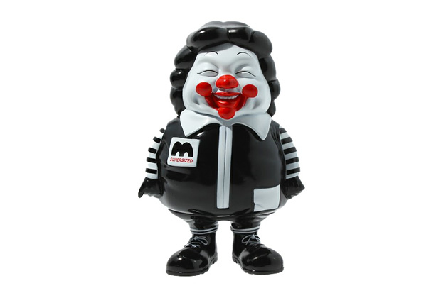 Toy Tokyo x Secret Base x Ron English McSupersized Me Figurine in Black