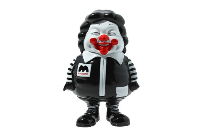 Toy Tokyo x Secret Base x Ron English McSupersized Me Figurine in Black