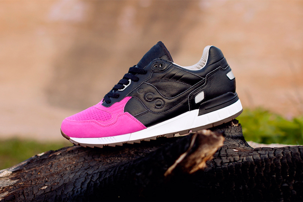solebox x saucony shadow 5000 pink devil