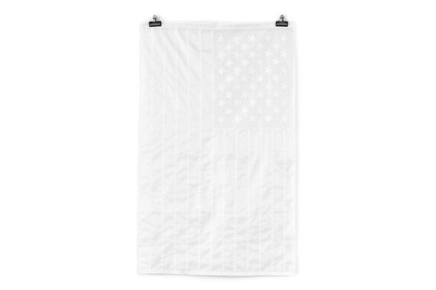 Stamp'd LA All-White American Flag