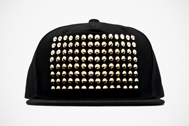 Stampd' The Gold Studded Snapback Hat