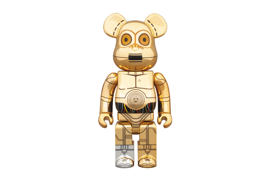 Star Wars x Medicom Toy 400% C-3PO Bearbrick