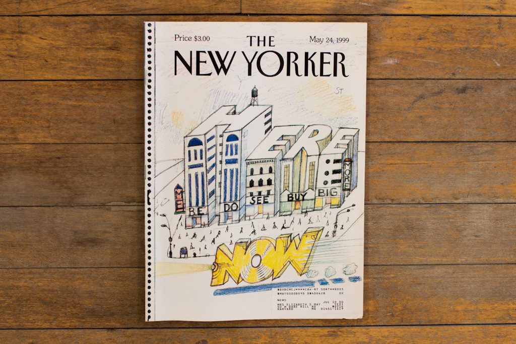 """Steinberg, Saul. The New Yorker. New York, 1945–2000."" Retrospect Exhibition @ Yale Union"