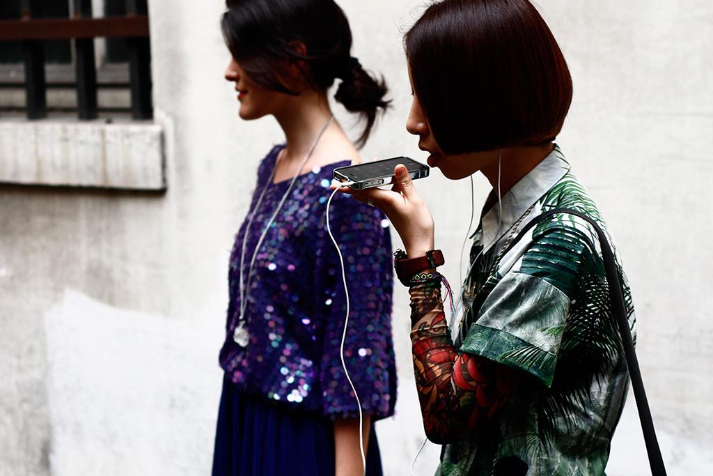 Streetsnaps: Paris Fashion Week 2013 Spring/Summer Part 2