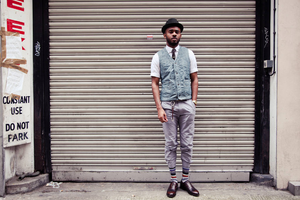 Streetsnaps: Subtle Stripes