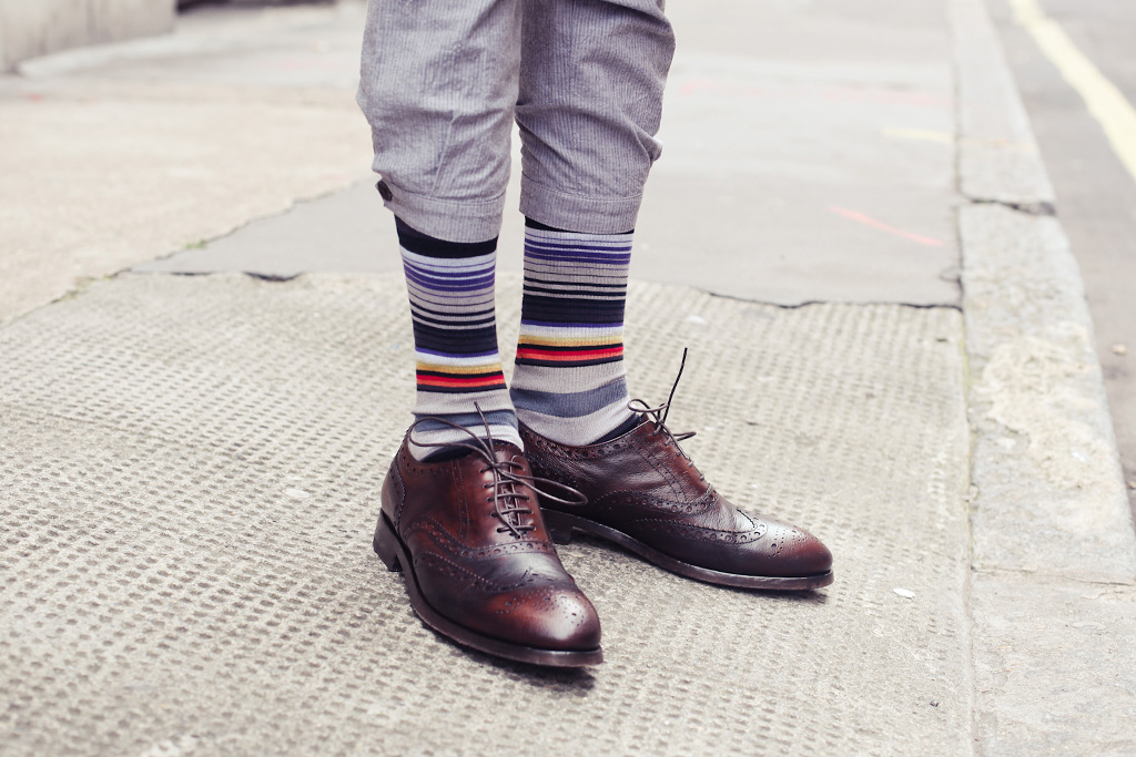 streetsnaps subtle stripes