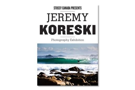 Stussy Canada Presents Jeremy Koreski Photography Exhibition @ Catalog Gallery