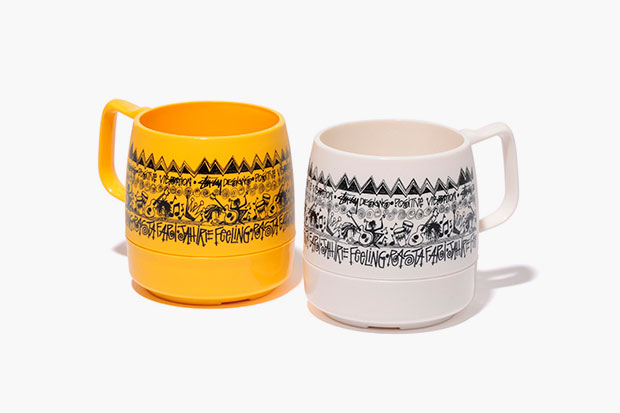 "Stussy x DINEX ""Positive Vibration"" Mugs"
