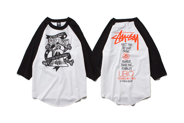ubiq x stussy t shirt collection