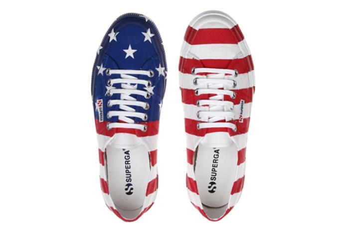 Superga American Flag Sneakers