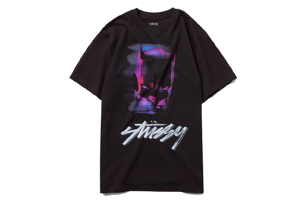 The Dark Knight Rises Batman x Stussy T-Shirt Collection