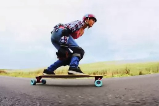 The Longboard Girls Crew Carve the Hills With the Casio G'zOne Commando