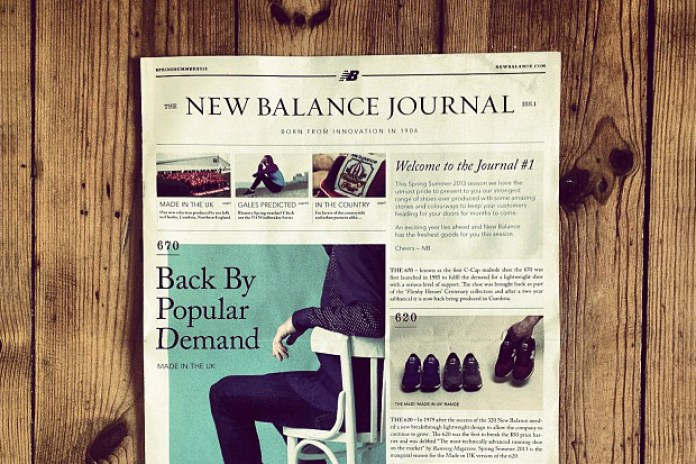 The New Balance Journal Issue 1