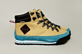 The North Face 2012 Fall/Winter Back to Berkeley Hiking Boots Blue/Tan