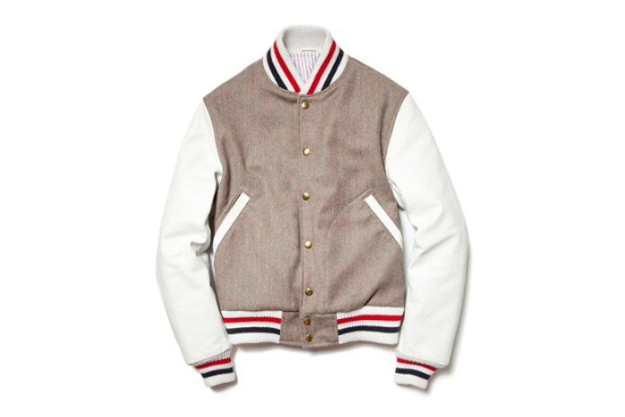 Thom Browne 2012 Fall/Winter Varsity Jacket