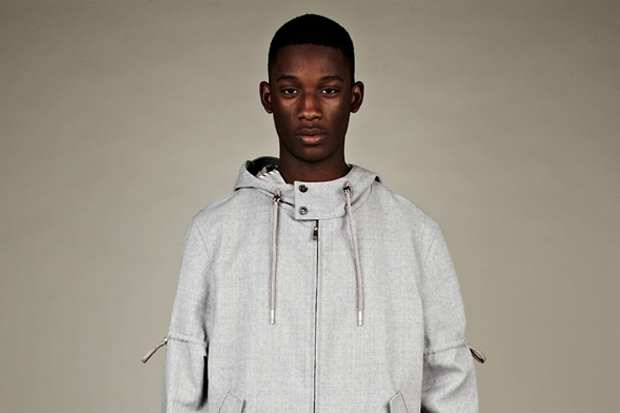 Thom Browne 2012 Spring/Summer Technical Windbreaker Parka