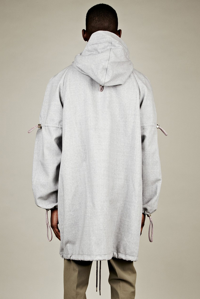thom browne 2012 spring summer technical windbreaker parka