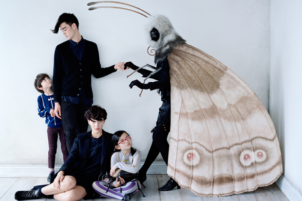 undercover for uniqlo 2012 fall winter uu final collection campaign
