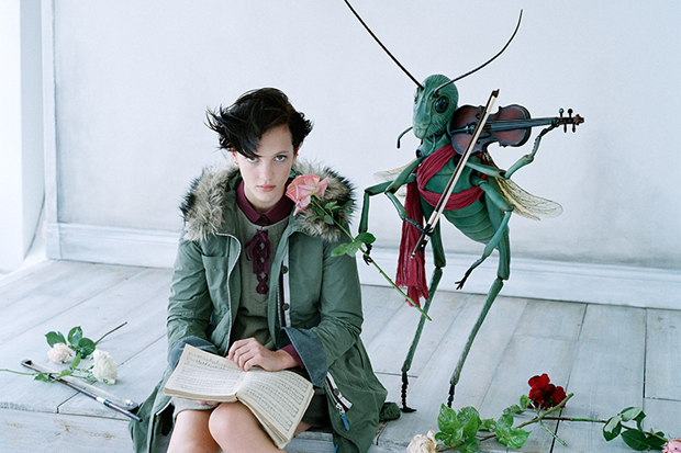 """UNDERCOVER for Uniqlo 2012 Fall/Winter """"UU"""" Final Collection Campaign"""